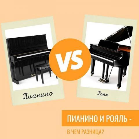Пианино и рояль - в чем разница?